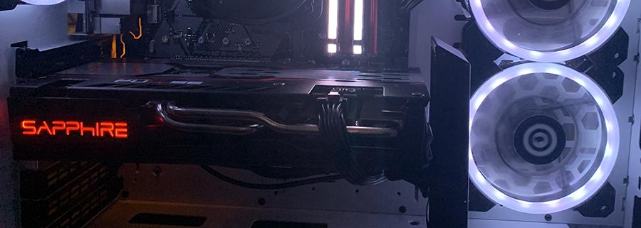 AMD Radeon RX 5600 XT in computer